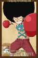 ººLuffy Afroºº - one-piece photo