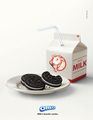 oreo and milk --------♥ - oreo photo