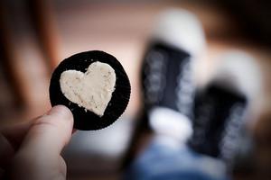 oreo heart---------♥