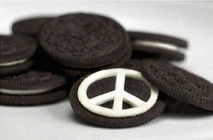 Cinta and peace oreo ♥