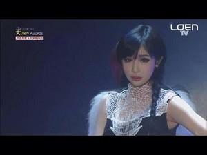 Park Bom 3rd GAON Chart kpop Awards