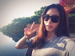 Park Shin Hye Weibo Update
