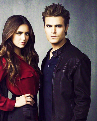 Paul Wesley and Nina Dobrev wallpaper possibly with a well dressed person, an overgarment, and a pea jacket entitled Paul and Nina
