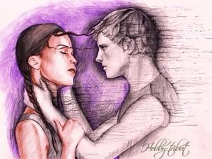 Katniss and Peeta ♢
