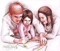 The Mellark Family - peeta-mellark-and-katniss-everdeen fan art