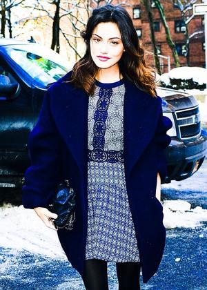 Phoebe Tonkin in NY