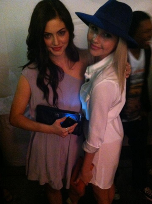 Phoebe and Claire