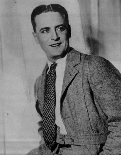 Poets & Writers wallpaper containing a business suit and a suit entitled F. Scott Fitzgerald