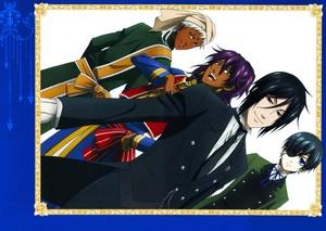 Prince Soma, Agni , Sebastian and Ciel