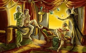 Prince Soma, Agni, Sebastian and Ciel