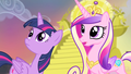 Princess Cadance and Twilight