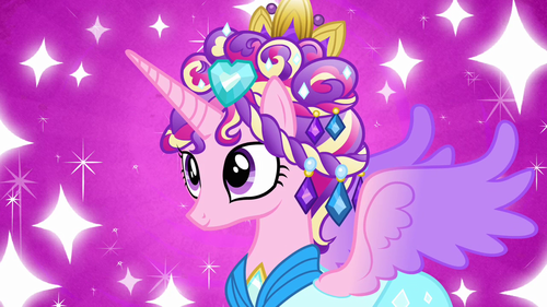 Princess Cadence wolpeyper titled Cadance's new look