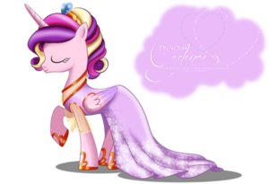 Princess Cadance Gala Fashion