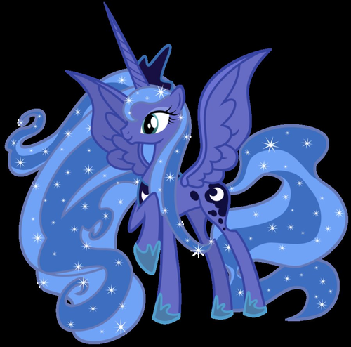 Princess Luna fond d'écran probably containing a triceratops titled Princess Luna