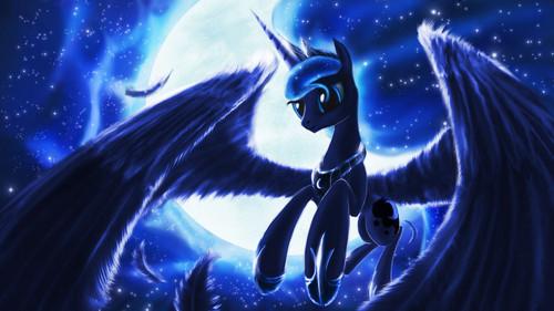 Princess Luna fond d'écran titled Princess Luna