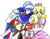 Adorable pfirsich and Marth....and Lucas