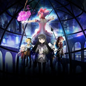 Madoka Magica Rebellion Movie poster