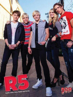 Ratliff, Riker, Ross, Rydel and Rocky