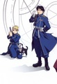 Roy Mustang and Riza Hawkeye - roy-riza%3D-royai photo