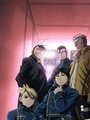 Roy Mustang and Riza Hawkeye (with Greed/Ling, Maes Hughes and Scar) - roy-riza%3D-royai photo