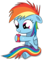 Rainbow Dash-Filly