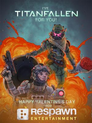 TITANFALL valentine XD