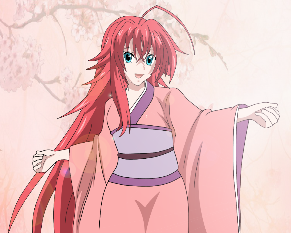 Rias Gremory kimono