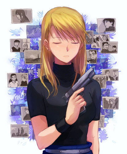 Riza Hawkeye Anime/Manga wallpaper called Riza Hawkeye