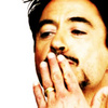 RDJ Mouth covered