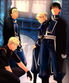 Roy Mustang and his crew