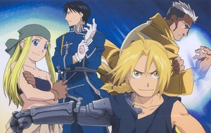 Roy Mustang, Winry, Scar and Edward