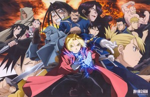 Roy mustang and Other Characters