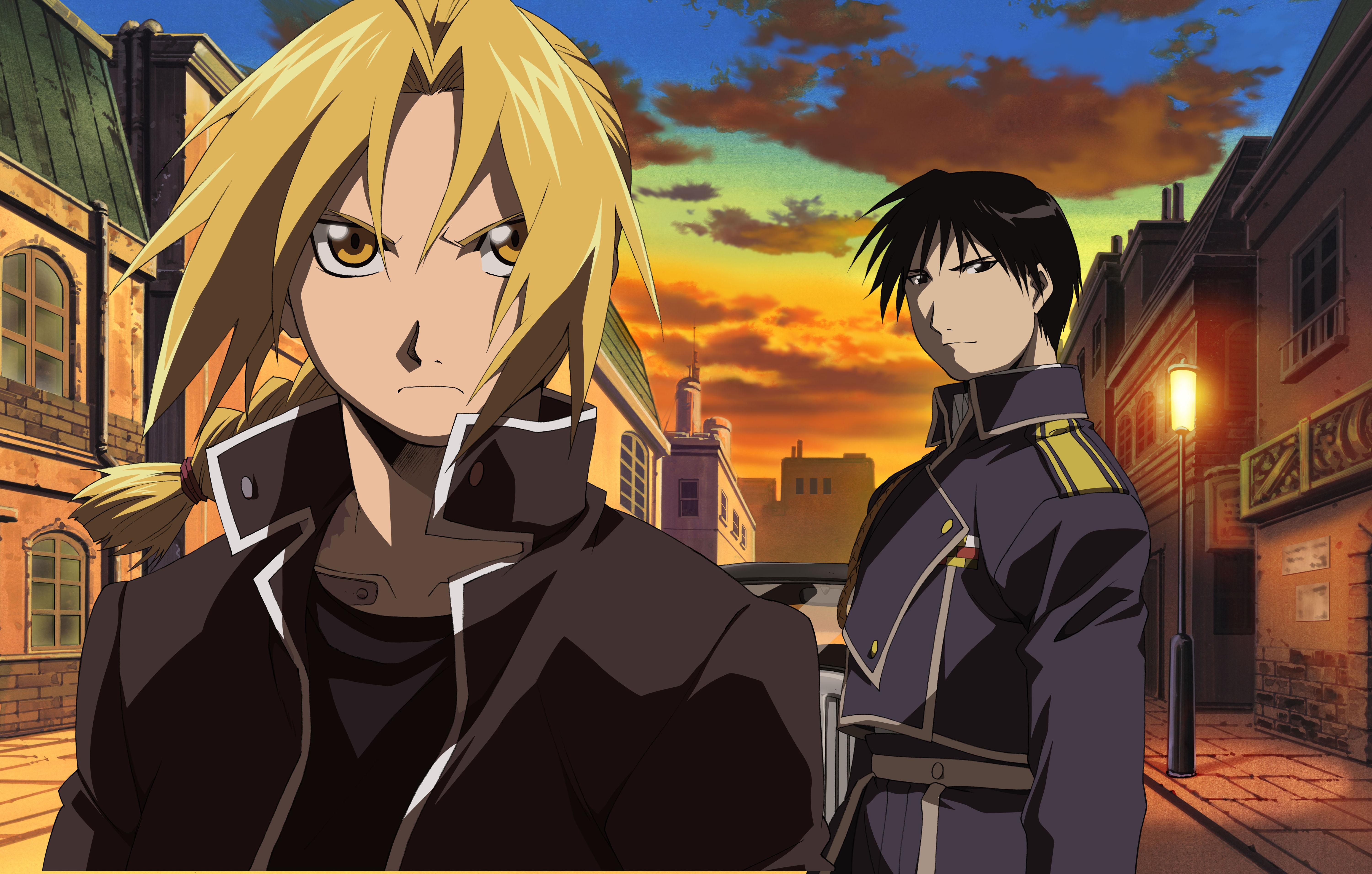 Roy Mustang and Edward Elric - Roy Mustang Photo (36610756 ...