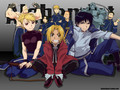 Roy Mustang, Riza Hawkeye, Edward Elric and other characters