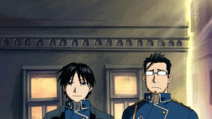 Roy mustang and Maes Hughes
