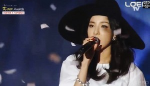 Dara 3rd GAON Chart Kpop Awards