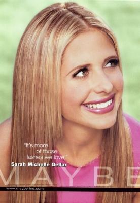 Sarah Michelle Gellar - Maybelline