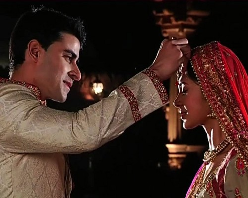 Saraswatichandra (TV series) karatasi la kupamba ukuta titled samud marriage