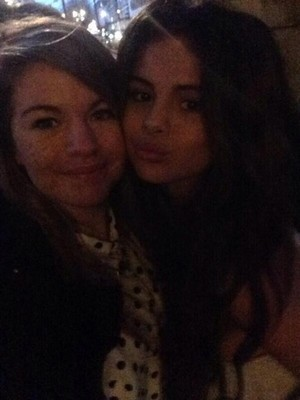 Selena with fans in London (February 16)