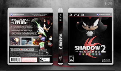 Shadow The Hedgehog wallpaper called Shadoq the hedgehog 2 video game