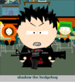 Shadow in South park - shadow-the-hedgehog fan art