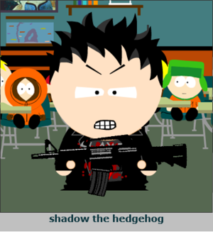 Shadow in South park
