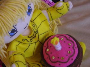 chibi shaka and cake ♥
