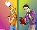 sheldon and penny - sheldon-cooper photo