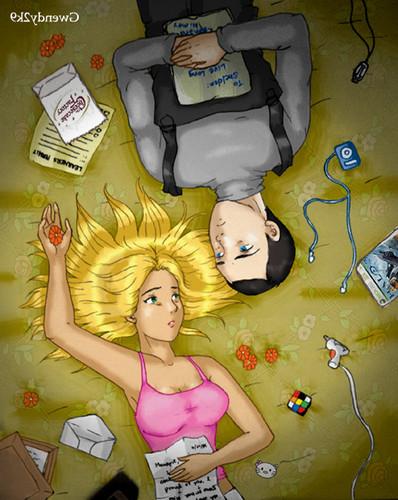 Sheldon Cooper wallpaper titled sheldon and penny