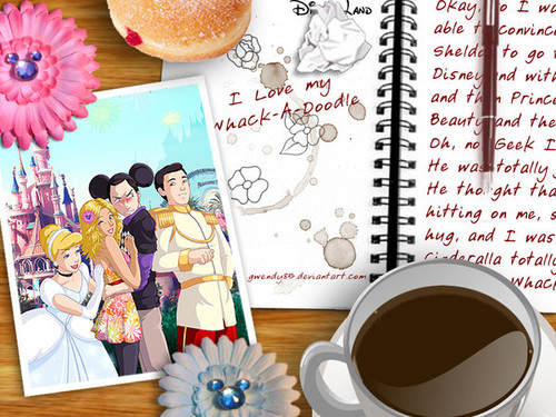 Sheldon Cooper wallpaper with a coffee break, a drip coffee, and a turkish coffee entitled sheldon and penny