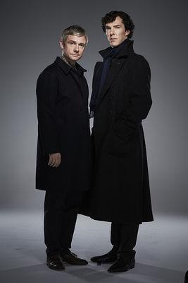 Sherlock and John - Promo Stills