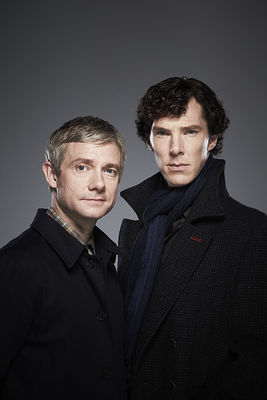 Sherlock and John - Promo Stills
