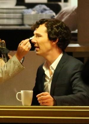 Filming Sherlock Season 3