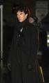 Benedict filming Season 3 - sherlock-on-bbc-one photo